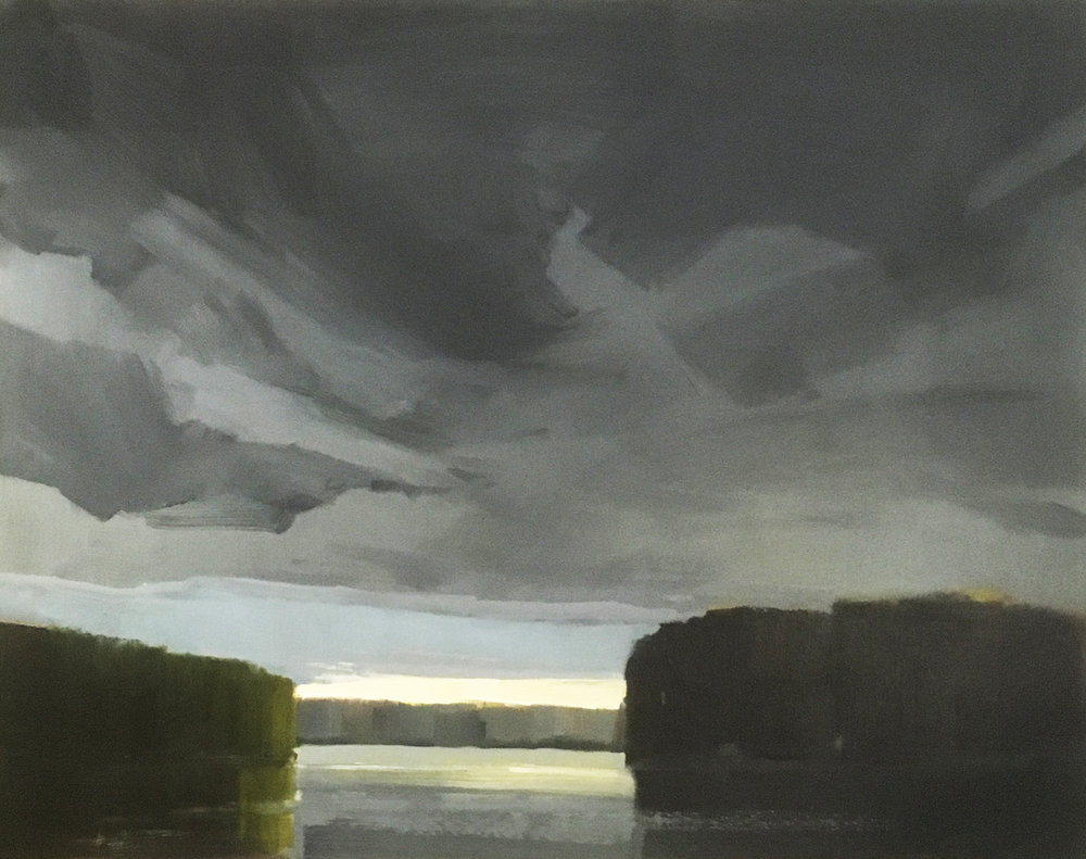 SOLD ||  'French River' by Jamie Jardine