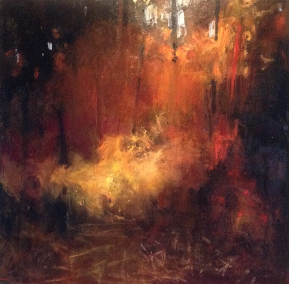 SOLD II Forest 1 by Carol Finkbeiner Thomas