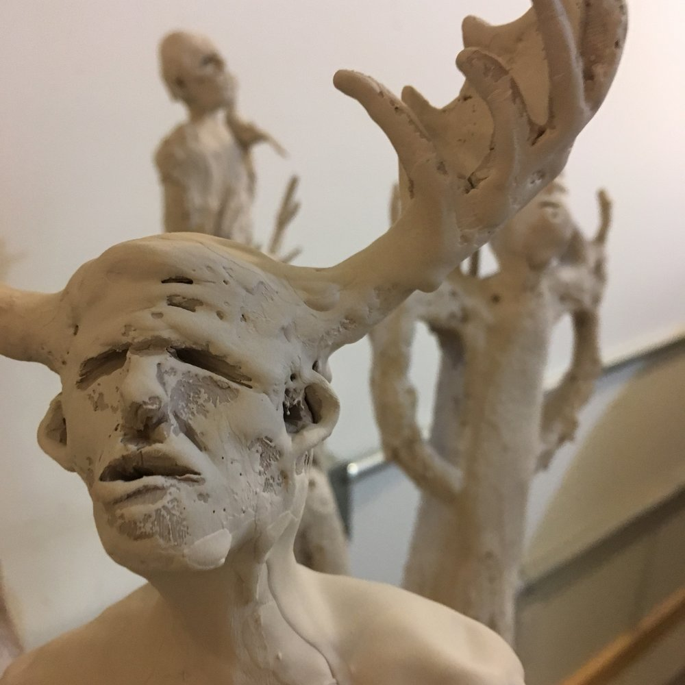 A peak at Norrie's figurative sculptures
