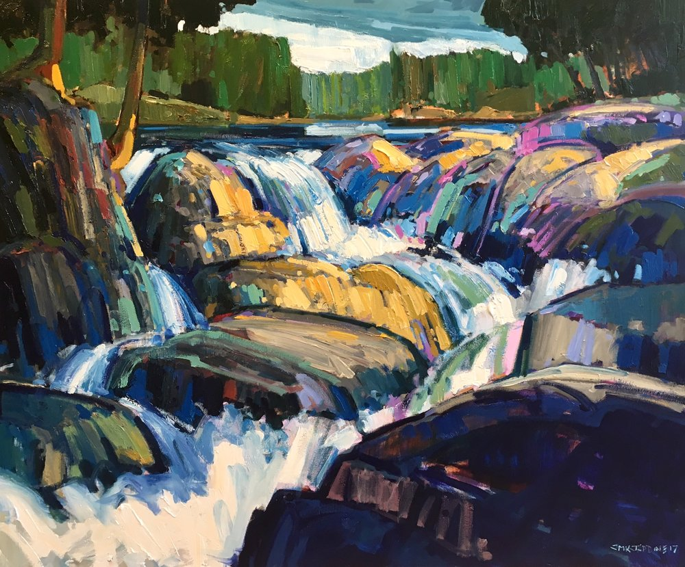 SOLD || Waterfall by Jamie Jardine