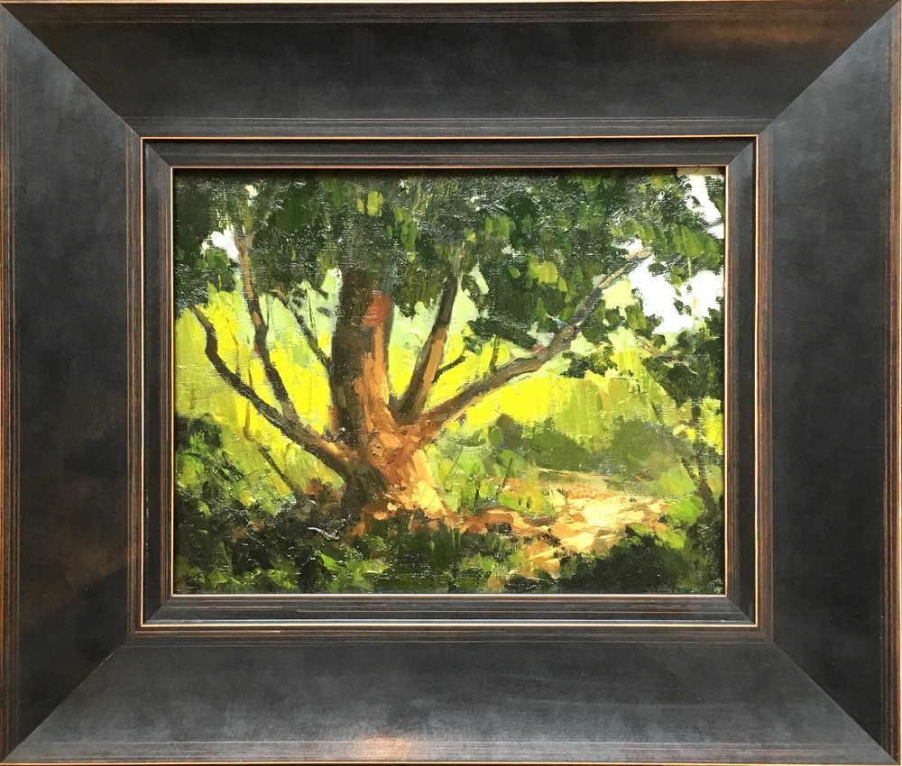 SOLD || Late in the Day, Tree, Stratford by Jamie Jardine