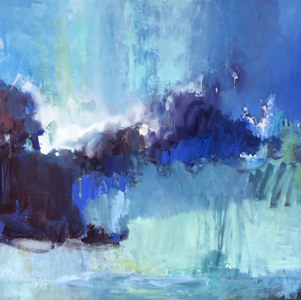 SOLD II Weather Over Huron 1 by Carol Finkbeiner Thomas