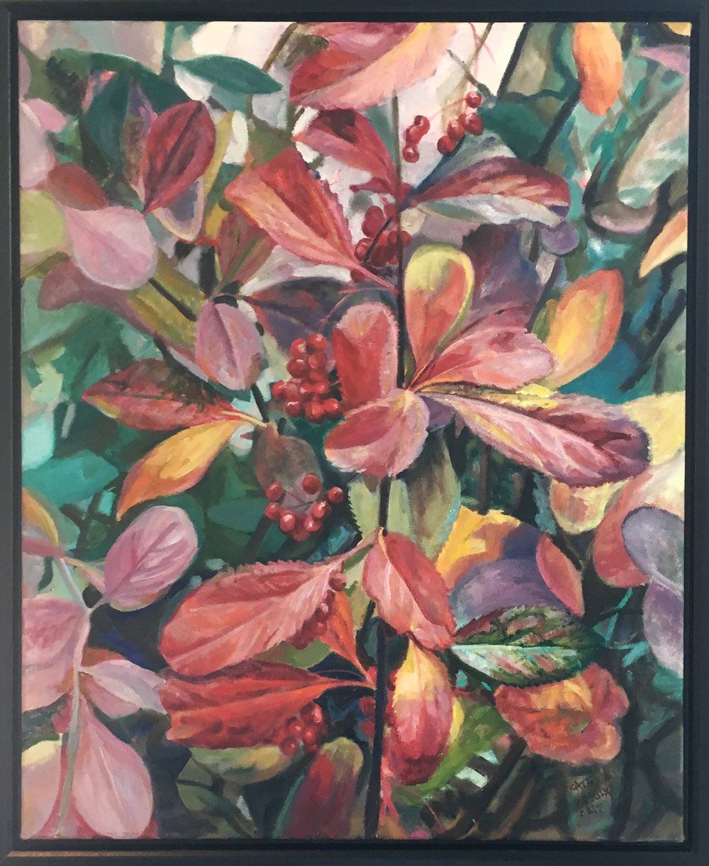Barberry Hedge by Cathy Groulx