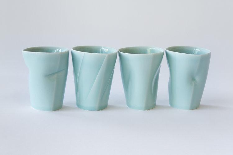 Celadon Tumblers by ChengOu Yu