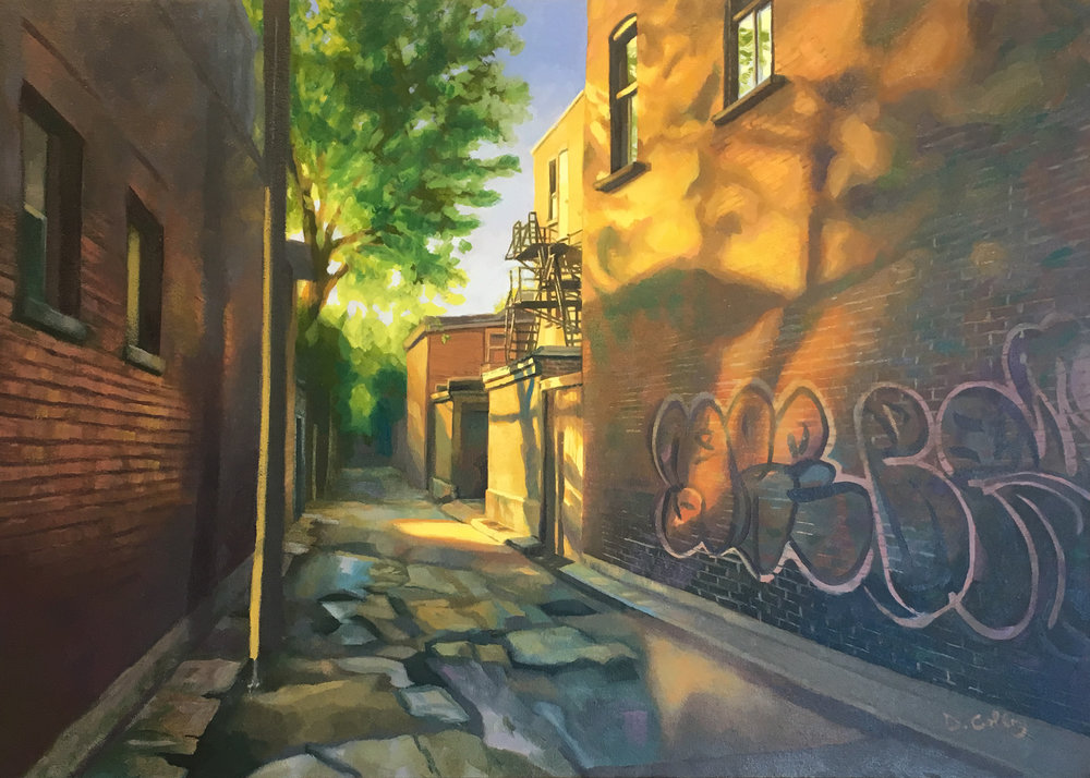 Alleyway 1 by Daniel Colby