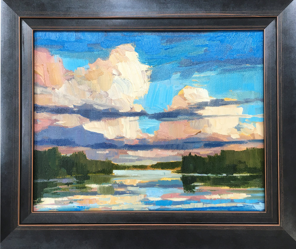 SOLD ||  Clouds over Lake Cecebe #2 by Jamie Jardine