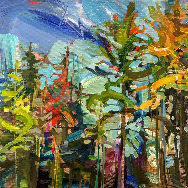 SOLD || Second Nature 8 by Amy Montgomery