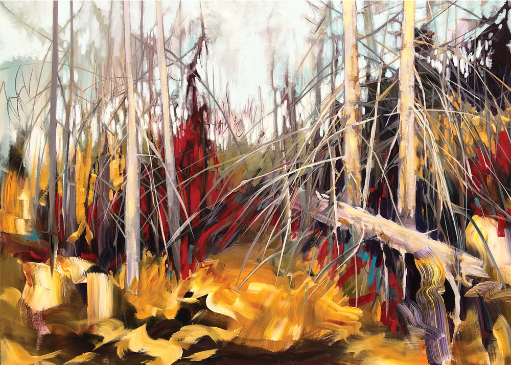 An exhibition of Shane's most recent landscape paintings. Many of the paintings are inspired by his first visit to Nova Scotia, Canada in 2018.  Please join us for an afternoon opening on Saturday, March 2, 2019 from 12 - 4 pm.  Everyone is welcome.