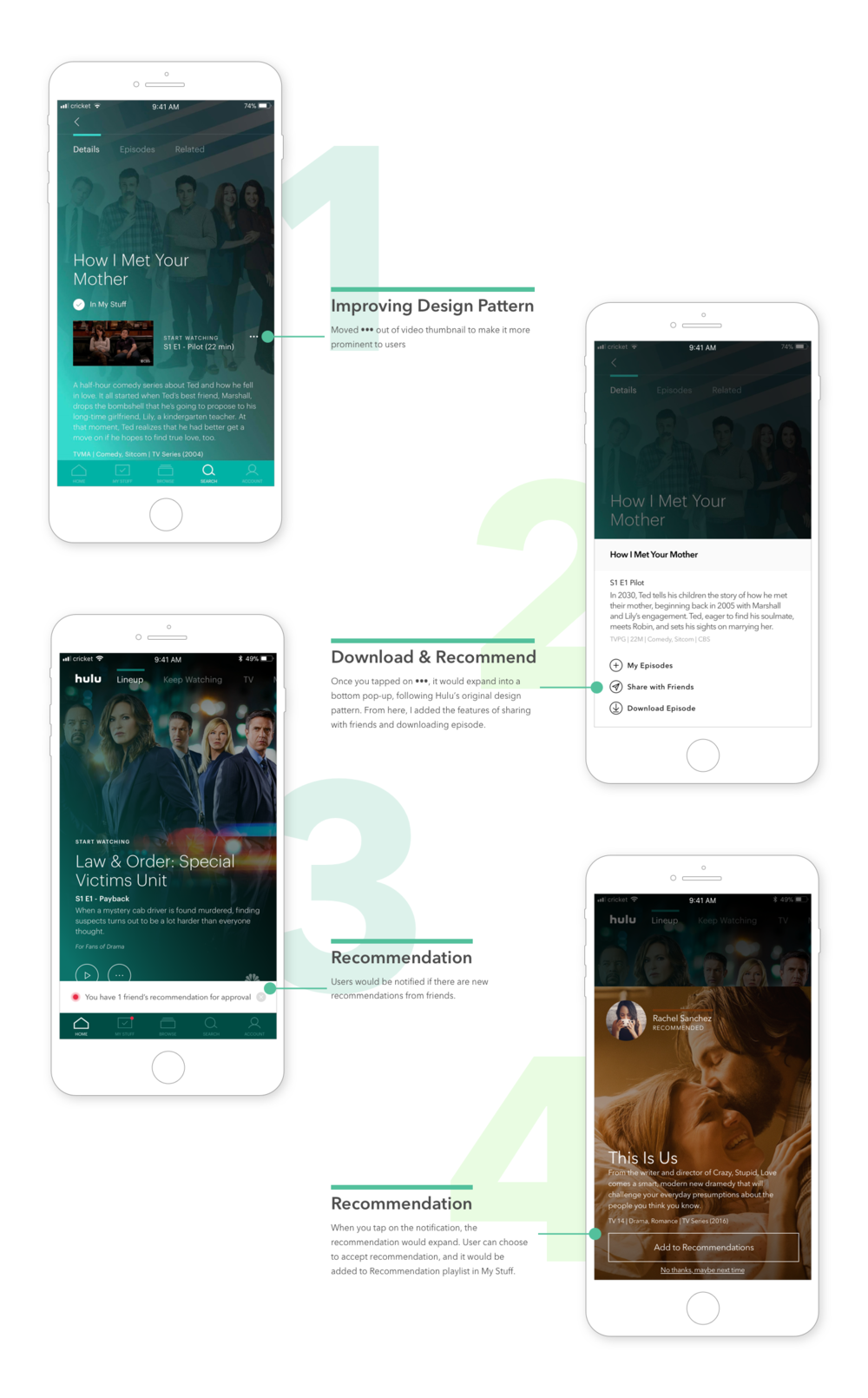 can you download hulu shows on phone