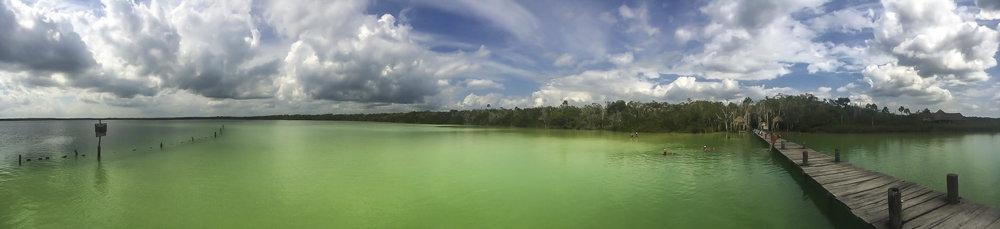 Kanlum Lagoon, Tulum Mexico