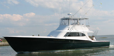 The High Return, locally crafted sport fishing boat