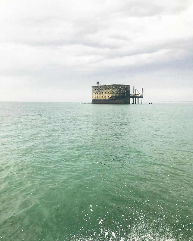 Petit week-end relax. #fortboyard