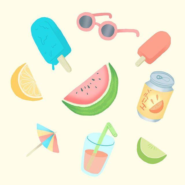 summer stuff 🍉☀️🕶