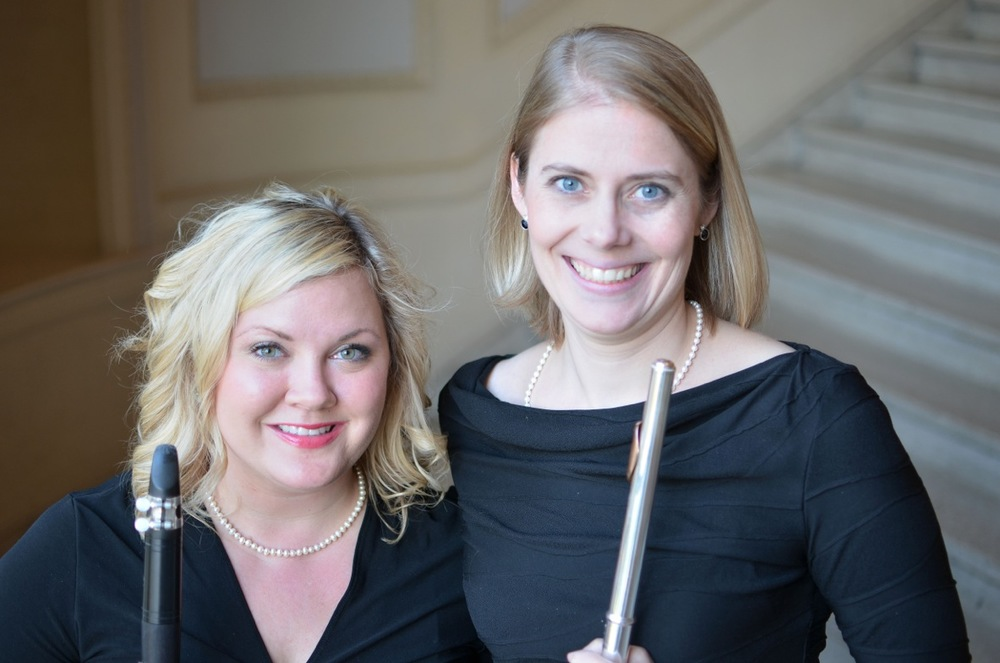Magie Smith and Rebecca Johnson, 2015