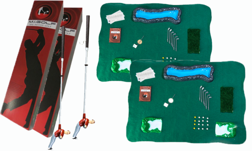 Set of Two Mini Indoor Golf Player Packs (Save $40) — Mini Indoor Golf