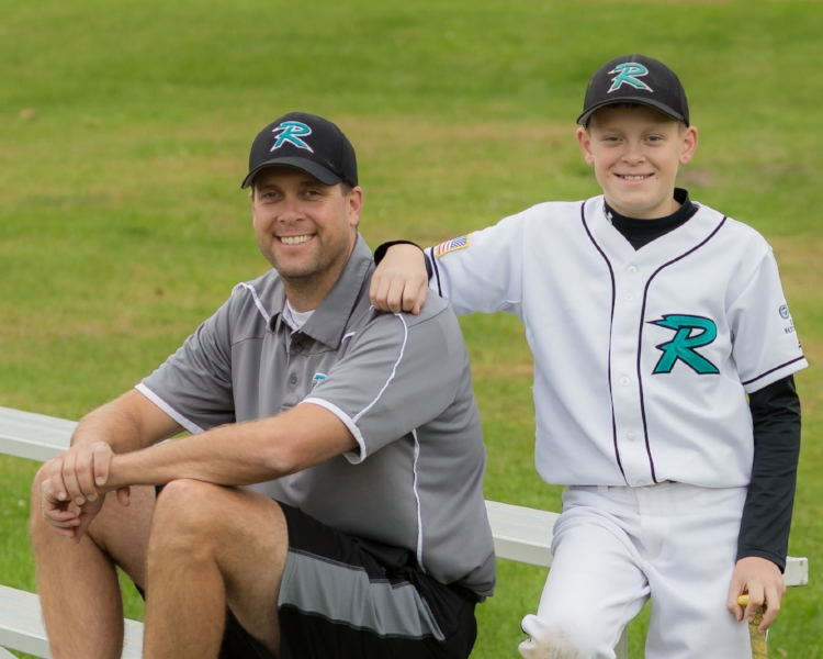 Joe ( owner ) with son Ryan