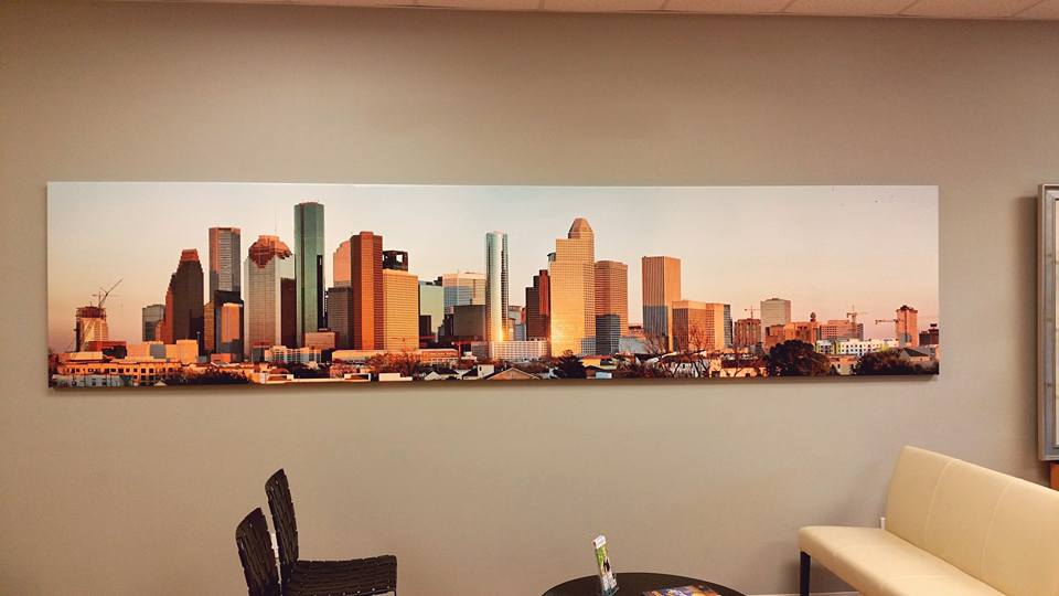 We love supporting local artist! This amazing photograph is by Matt Nichols. Definitely a patient favorite.