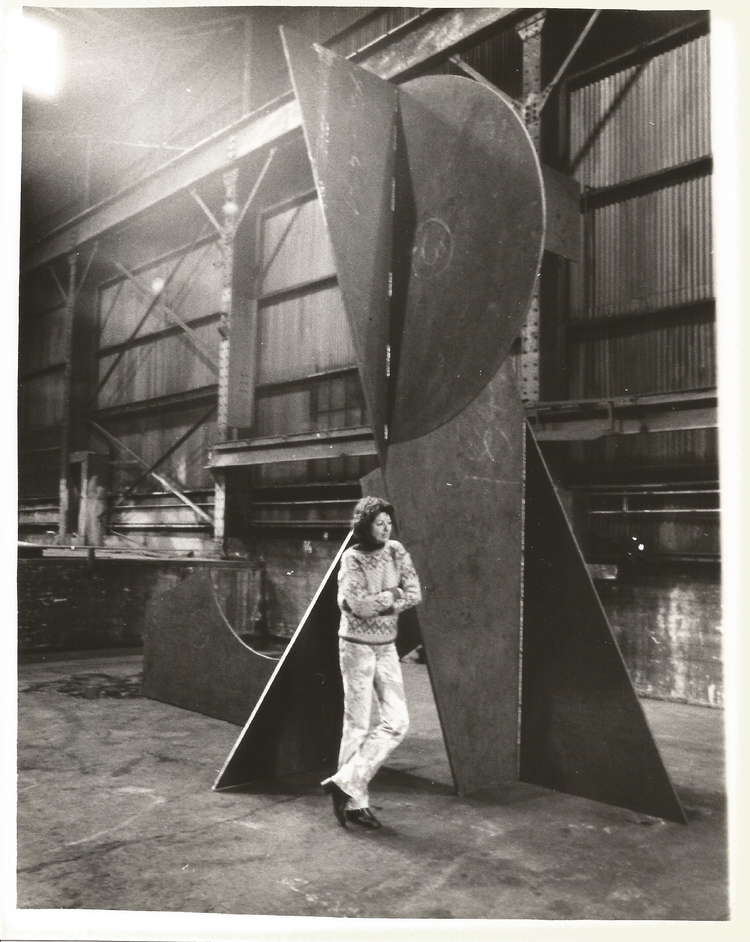 Betty Gold in the Factory, Los Angeles circa 1979