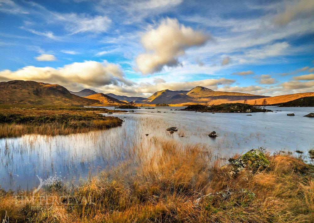 Loch na h-achlaise, Rannoch Moor