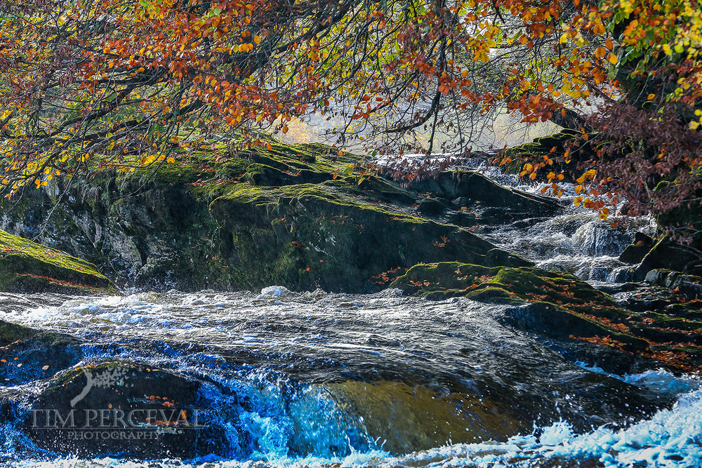 Autumn at the Falls of Dochart, Killin