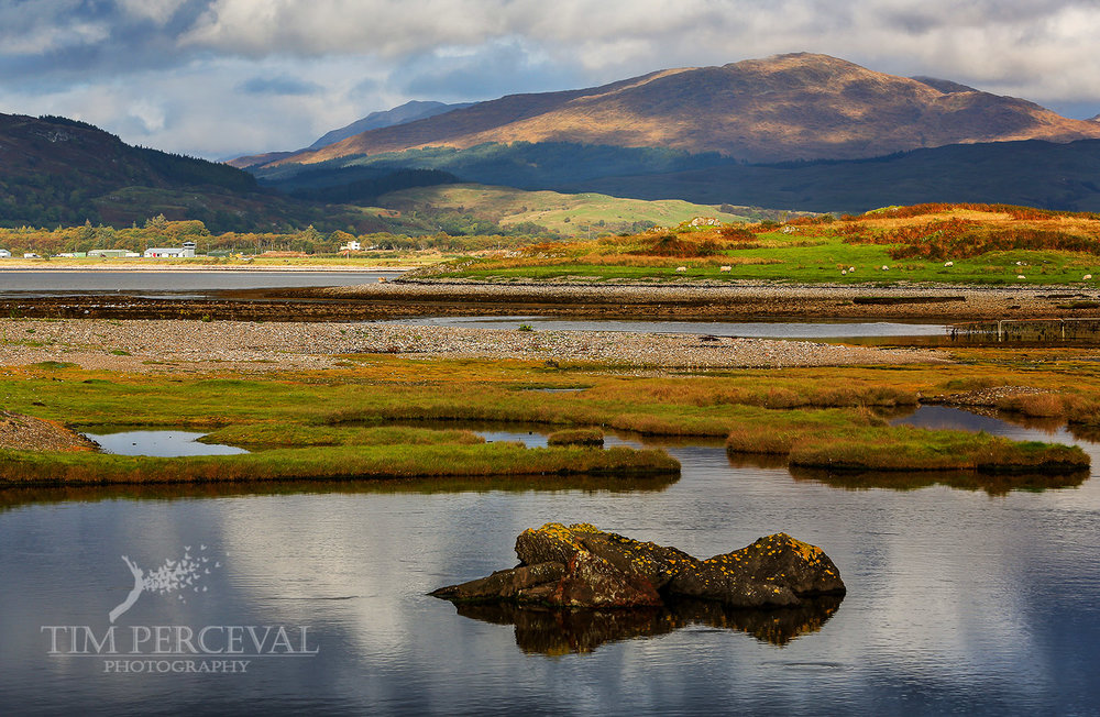 Loch Etive from Connel
