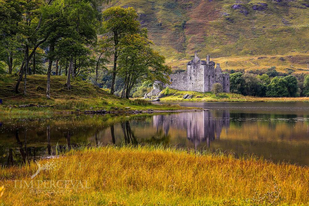 Kirlchurn Castle Island
