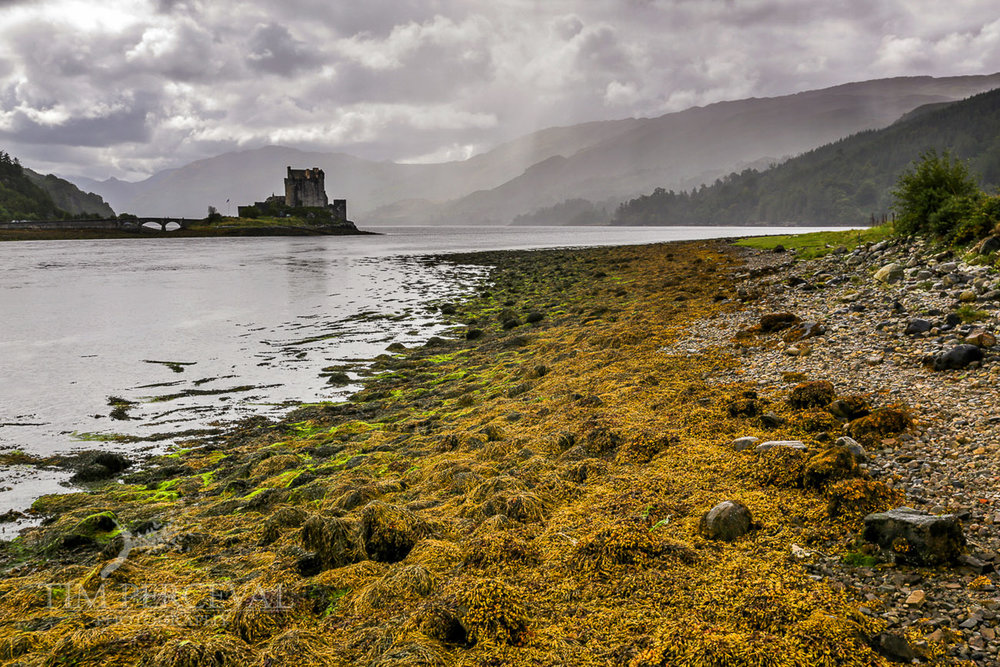 Eileen Donan Castle from the shore of Loch Duich