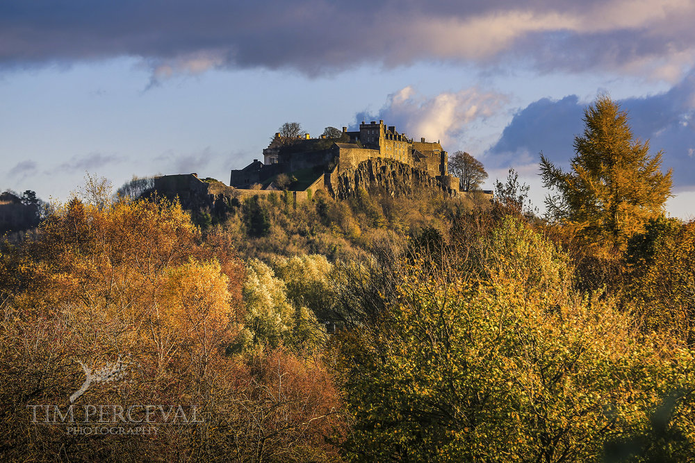 Stirling Castle in Autumn