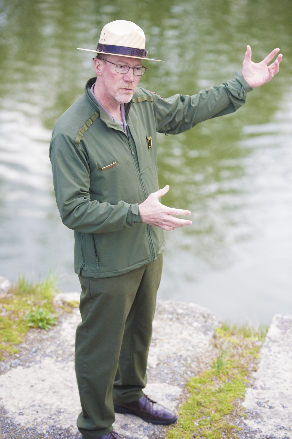 Kevin Brandt Superintendent of C&O Canal