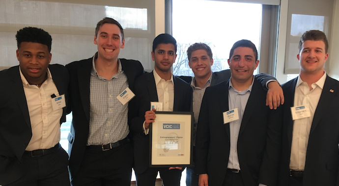 Entrepreneur's Choice Award, uVCIC 2017 at University of Chicago