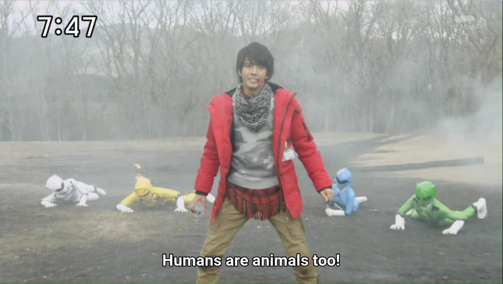 Episode Discussed: Zyuohger Ep. 1