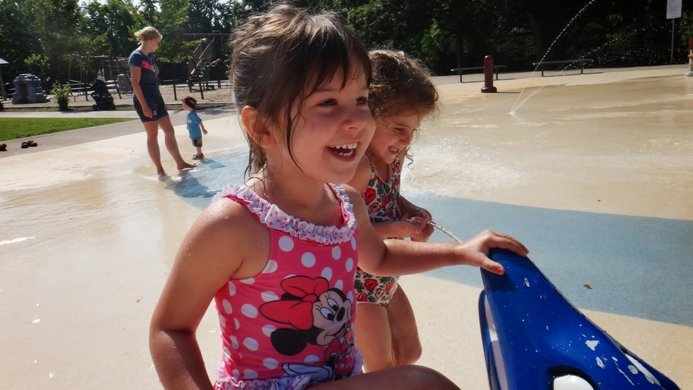 Summer Camp park fun.