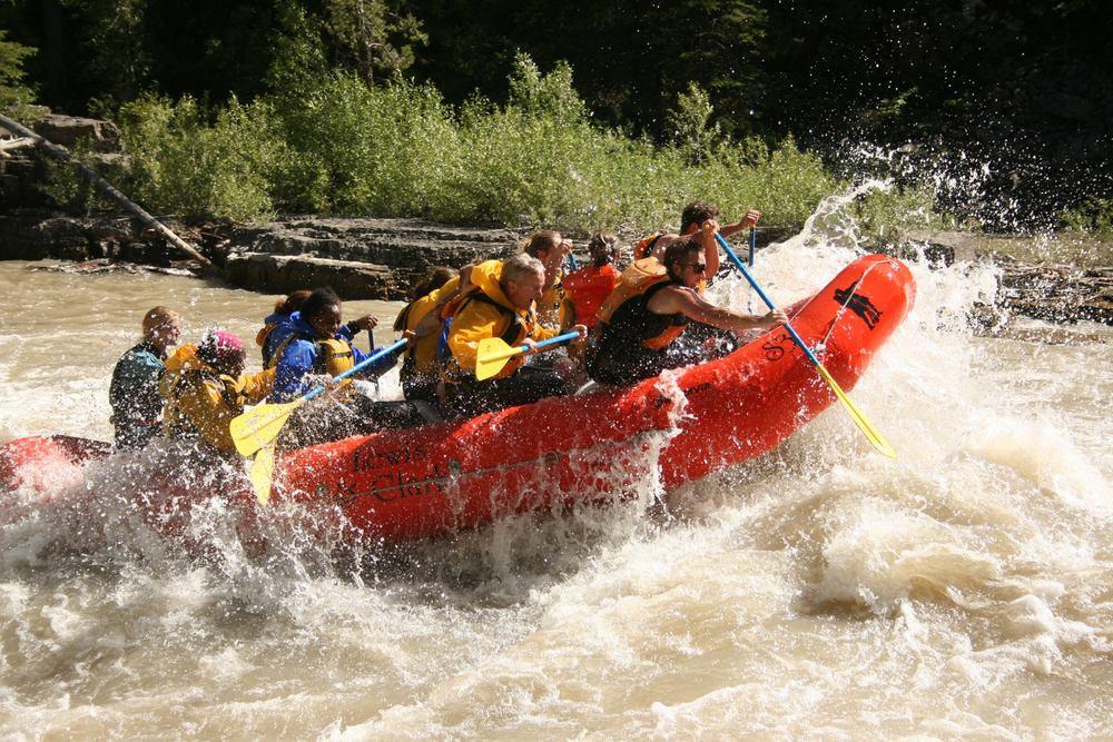 Snake River river rapids!