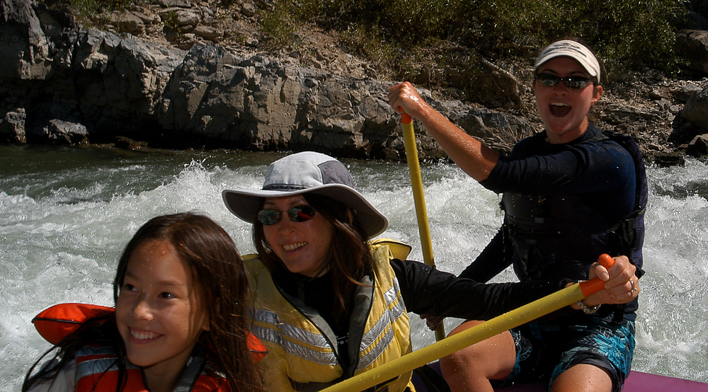 Rafting is fun!
