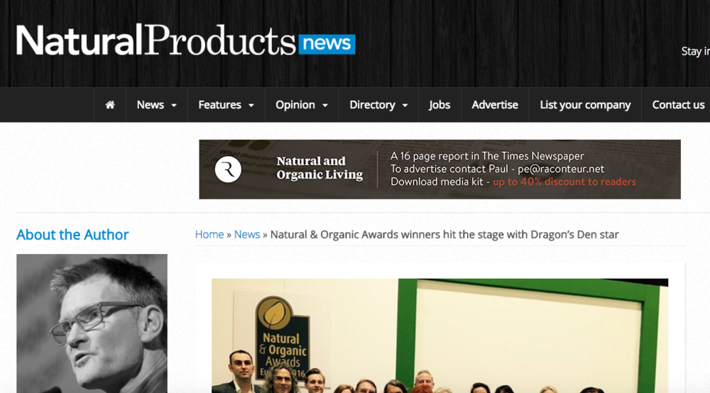 Natural Products News