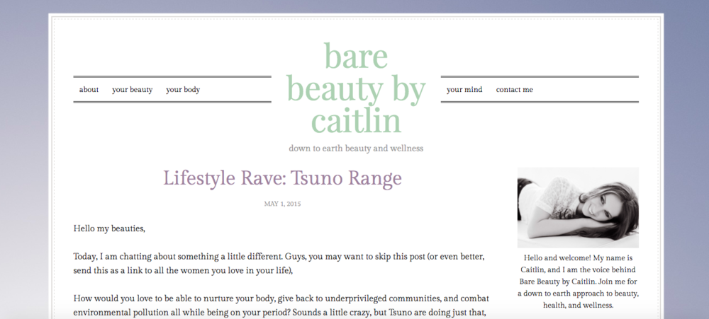 Bare Beauty By Caitlin