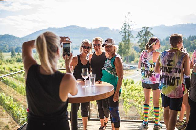 Cheers to the weekend! #sipsiphooray #winerun #cowichanwinerun
