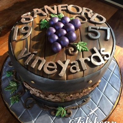 A custom cake by Lori Pope. Her cottage food business is really taking off!