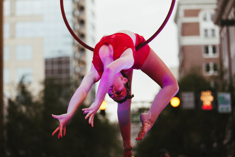 Orlando Aerial Arts (photo : Vine and Light Photography)