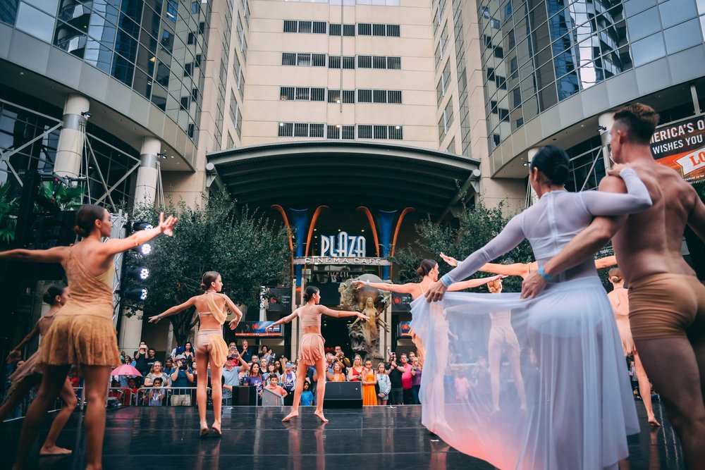 A ballet performance from Aretuza's Ballerina Project (photo : Vine and Light Photography)