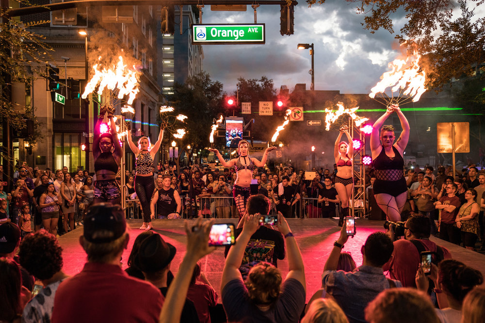 The Fahrenheit Foxes bring the fire! (photo : Cody Board)