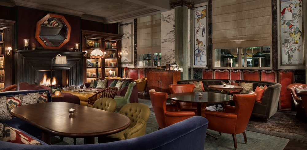 Scarfes Bar, Rosewood London