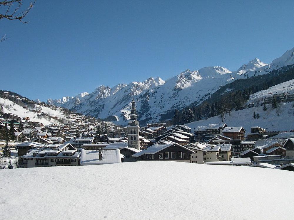 La Clusaz, Ski Resort, Close to Geneva, Haute Savoie