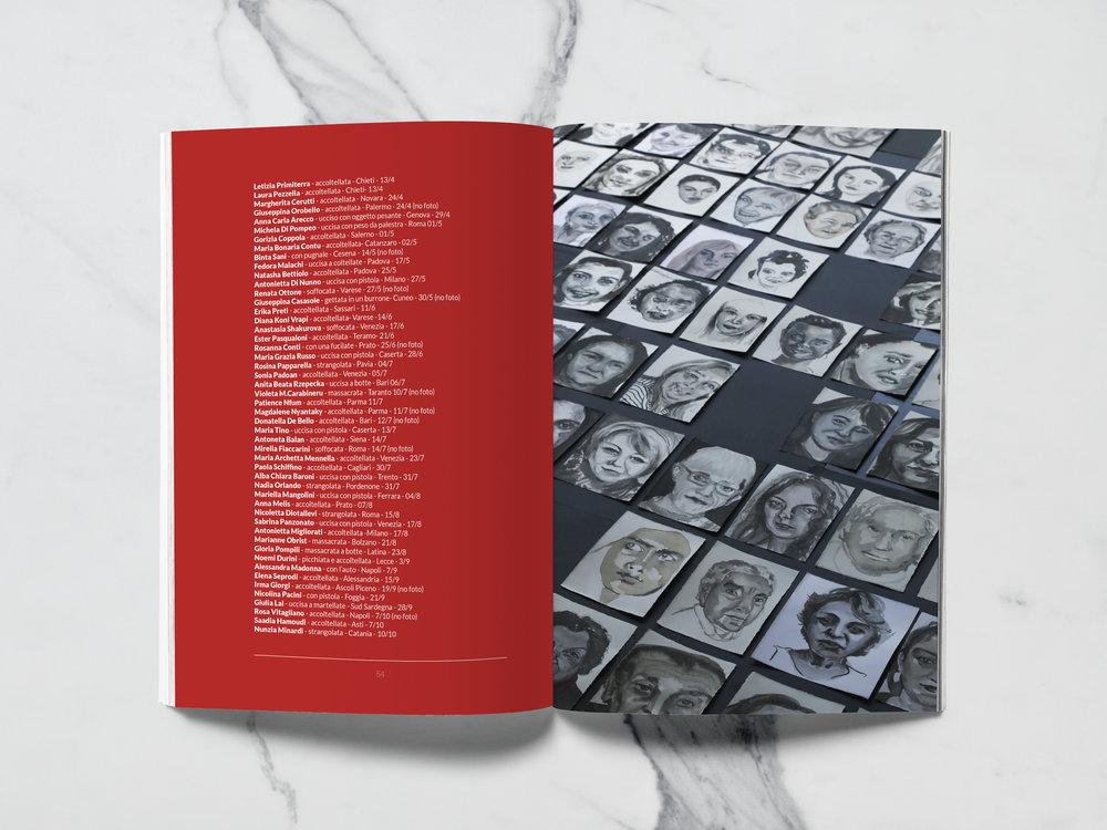 Femminicidio - catalogo mostra