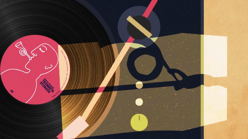 Trombeta stonada - loop-animation videoclip