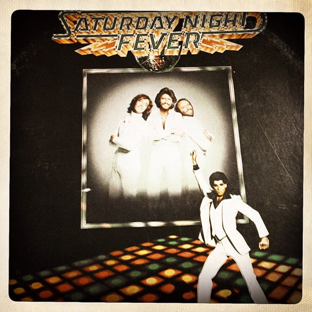 "The soundtrack to Saturday Night Fever helped make ""disco"" a household term.  (image:  Michael Brown )"