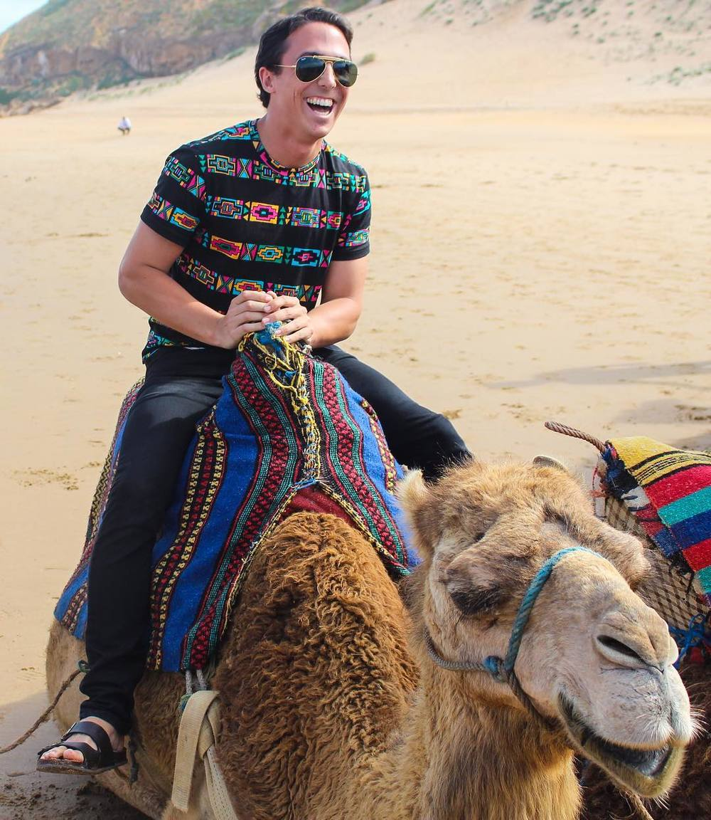 Camel riding in Tetuan, Morocco. original post