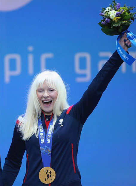 Kelly Gallagher, Winter Paralympics gold medalist
