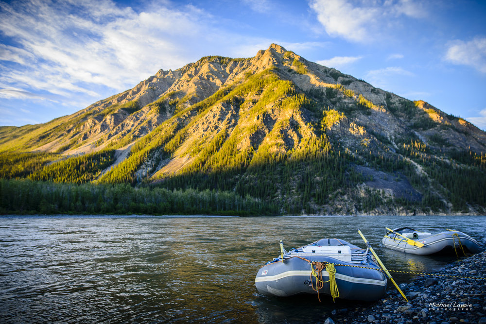 Your comfortable and safe ride through the Nahanni River and the Northern wilderness awaits!
