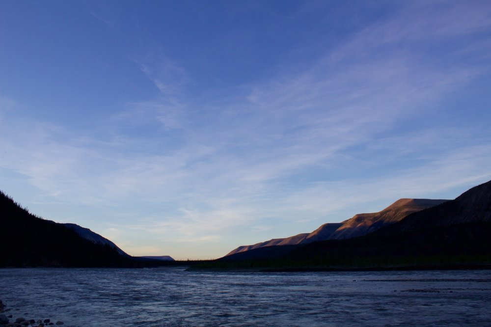 Mountain River Evening sky at Tequila Creek.jpg